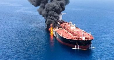 Terrorists Attack Japanese Oil Ship Near Iran During Historic Meeting Abe-Rouhani