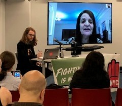 Rasmea Odeh Speaks on Palestine and Political Repression