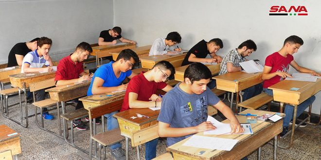 Syria: More Than 240 Thousand High School Students Start Their Final Exams in Different Provinces