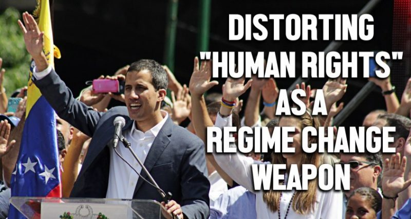 """How Venezuela's US-backed Opposition Distorts """"Human Rights"""" to Push Regime Change (Interview)"""