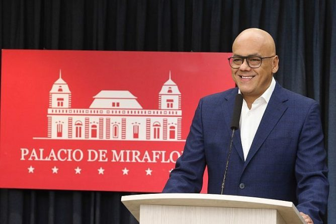 Jorge Rodríguez: We Continue the Dialogues and Ratify Full Respect for its Rules