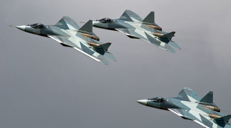 Russia Starts Mass Production of Fifth-Generation Fighters Su-57