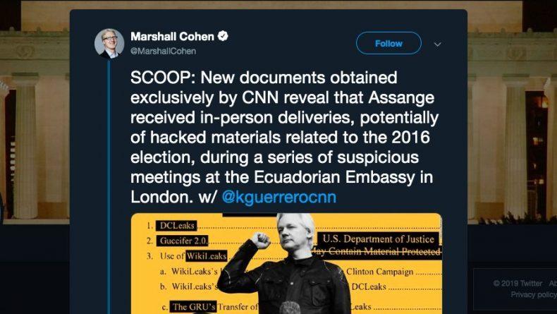 New CNN Assange Smear Piece Is Amazingly Dishonest, Even For CNN