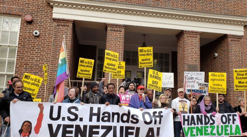 US Government Violates International and National Law in its Destabilization of Venezuela