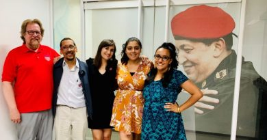 Chicago Teachers Show Solidarity in Venezuela