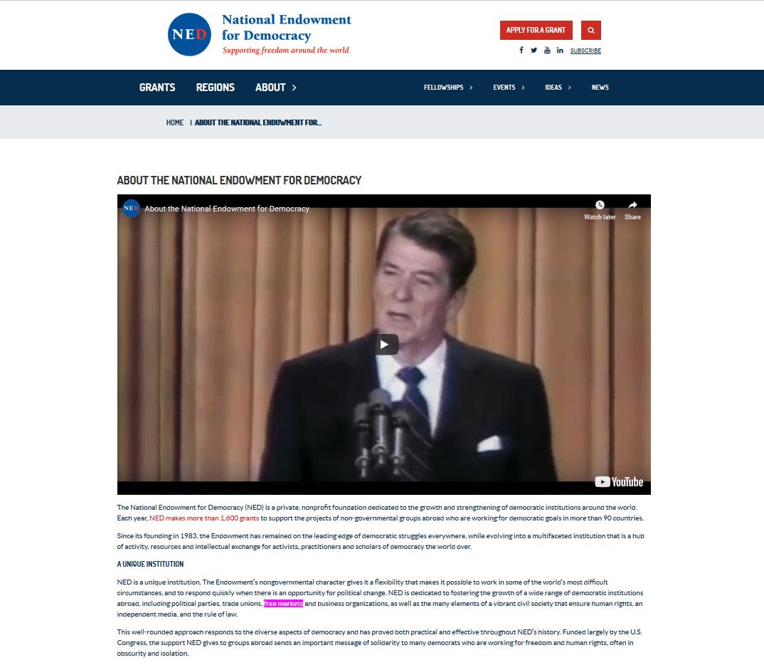 NED-Ronald-Reagan-free-markets