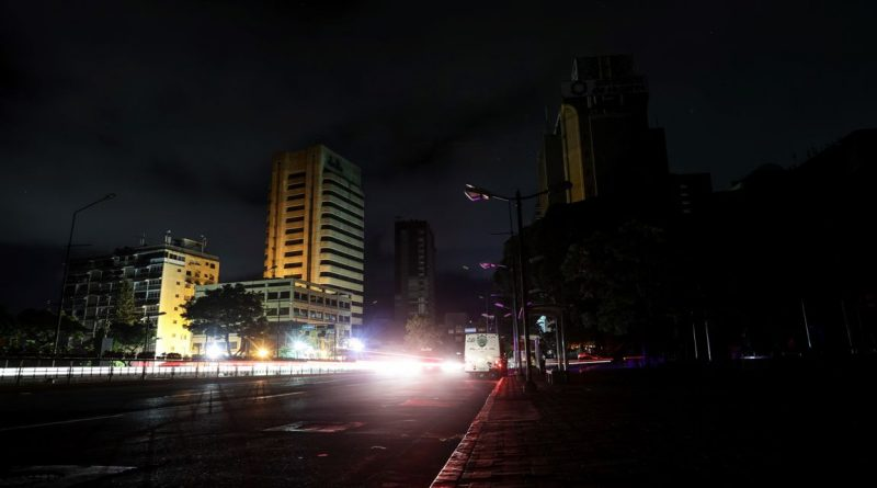 Water Service Began to Normalize After the Blackout (Caracas)
