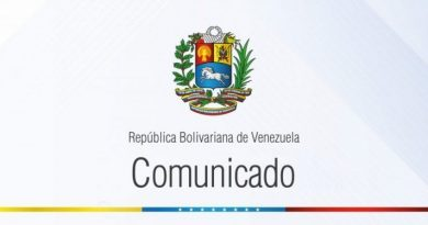 Venezuela Repudiates Washington's Cynicism - Human Rights (Communique)