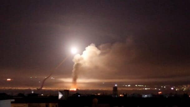 Israel Unleashes Missile Attack on Syria