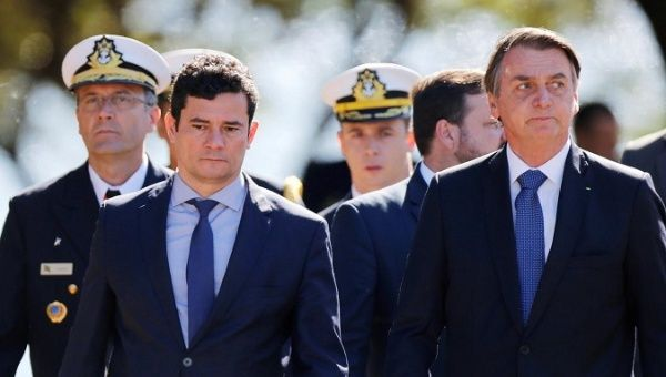 Brazil: Moro Shielded Bolsonaro's Son from Graft - Paramilitary Probes (The Intercept)