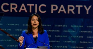 Tulsi Gabbard Tries to Defend Her Anti-Palestinian Vote