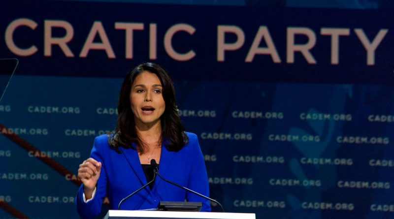 Tulsi Gabbard Tries to Defend Her Anti-Palestinian Vote