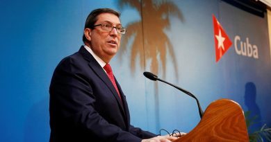 Cuban Foreign Minister Repudiates US Blockade Against Venezuela