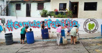 How Neighborhoods React to the Economic Blockade in Venezuela