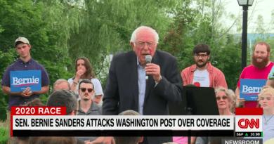 Mass Media's Phony Freakout Over Bernie's WaPo Criticism Is Backfiring
