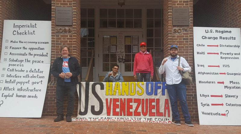 Popular Resistance Expresses Solidarity with Venezuela Against US Blockade