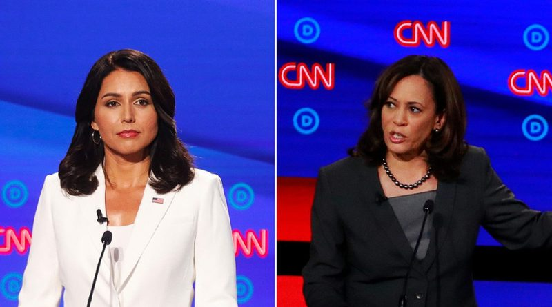 Tulsi Gabbard Dismantles Kamala Harris Over her Prosecutor Record During Dem Debate