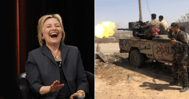 "What Happened When She ""Supported"" Libya? Chinese Media Roasts Hillary Clinton over Hong Kong"