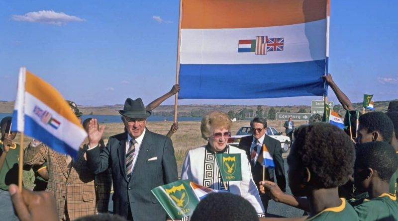 South Africa: It's Now 'Illegal' to Display the Apartheid Flag
