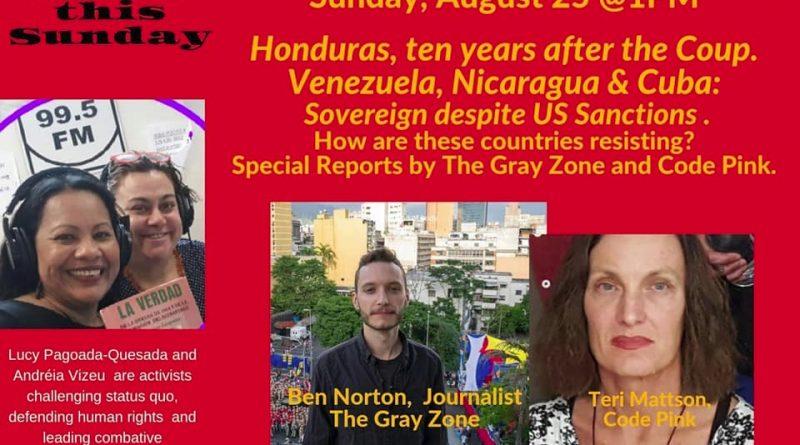 Ben Norton and Teri Mattson on Honduras, Nicaragua, Cuba and Venezuela (Interview)