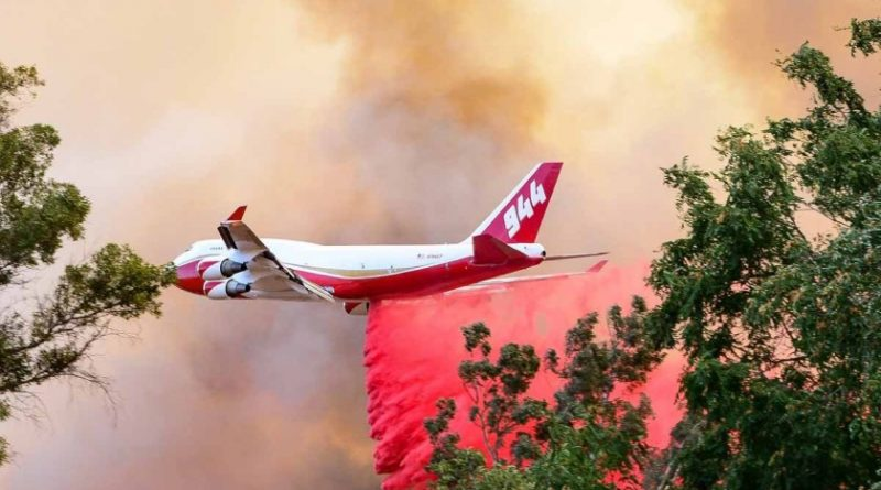 Bolivia Orders World's Largest Air Tanker to Combat Amazon Fires