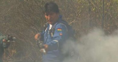 Evo Morales on the Ground Fighting Amazon Fires (Video + Images)