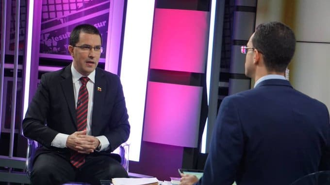 Chancellor Arreaza Rejects Savagery Used by the US in its Threat of Naval Blockade against Venezuela (Video)