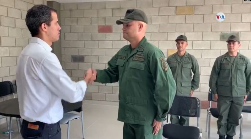 Military Deserters Protest Again in Cúcuta - Guaido is Not Paying His Dues