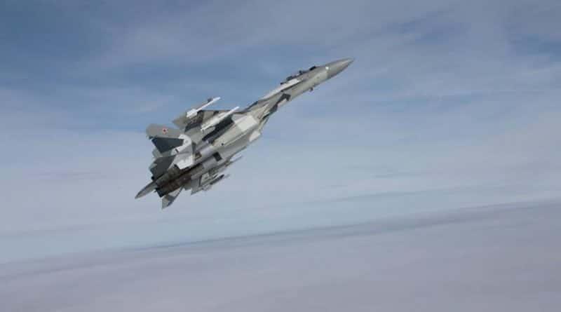 Russian Su-35 Jets Allegedly Intercepted Turkish Warplanes over Idlib