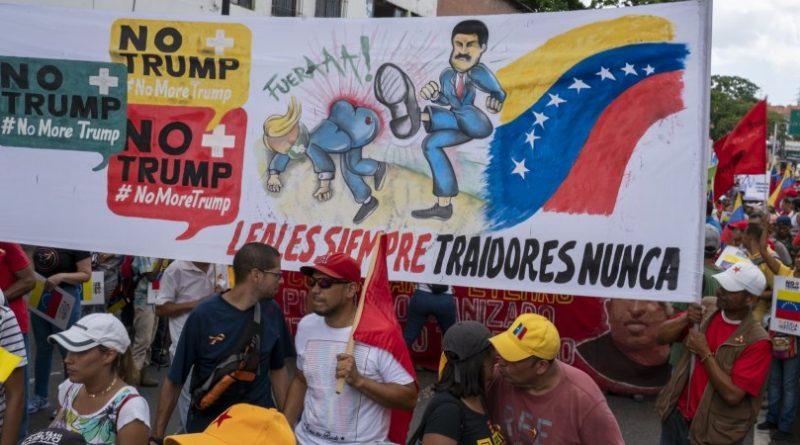 Venezuelans March Against US Embargo in Enormous #NoMoreTrump Protest