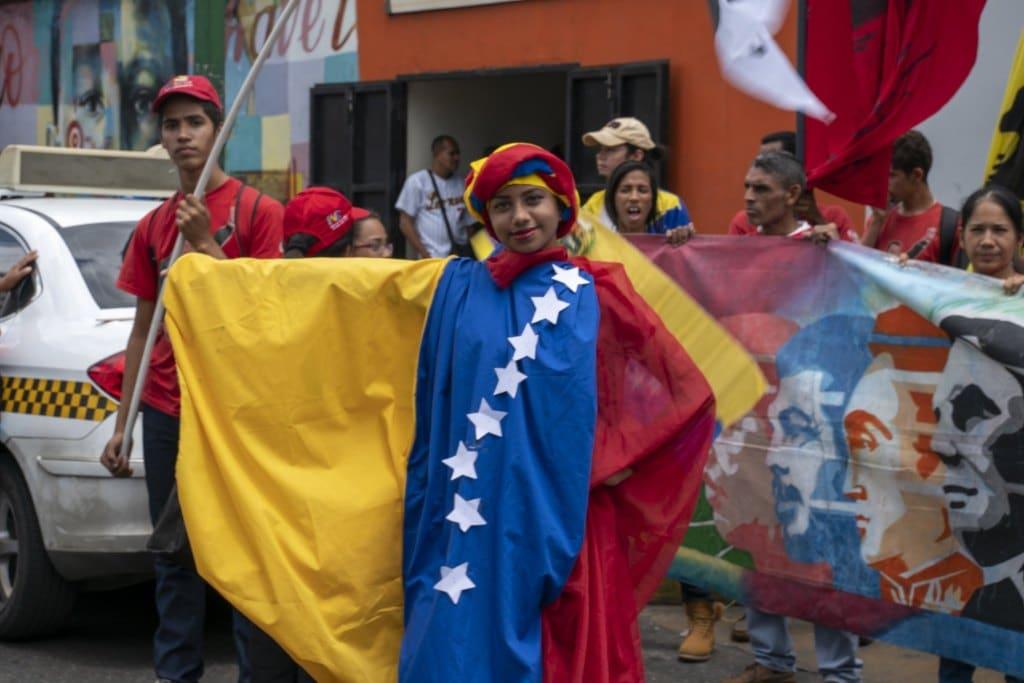 Venezuela-no-more-Trump-protest-flag-dress.jpg