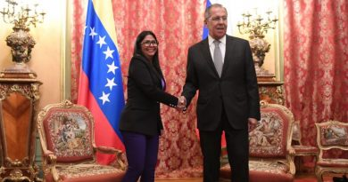 Vice President Delcy Rodriguez Met with Russia's Sergey Lavrov