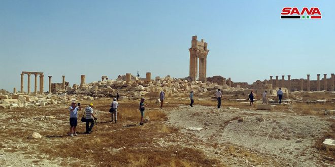 Syria: Palmyra Attracts More Foreign Tourist Delegations After its Liberation From Terrorism