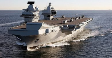 "China Warns UK Deployment of Aircraft Carrier to South China Sea to Be Seen as ""Hostile Action"""