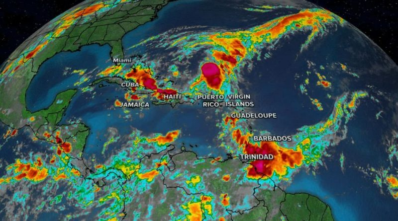 Tropical Storm Karen: These are the Twelve States in Venezuela on Alert