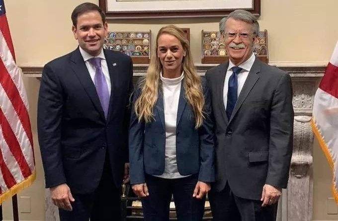 "Social Networks Erupted on Lilian Tintori and Carla Angola with Memes Connecting them to Bolton's ""Resignation"""
