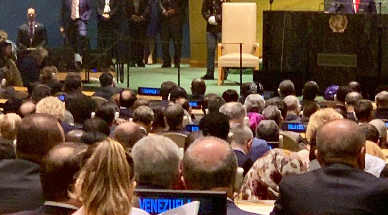 What Venezuela's Delegation Did During Trump's UN Speech (Video + Images)