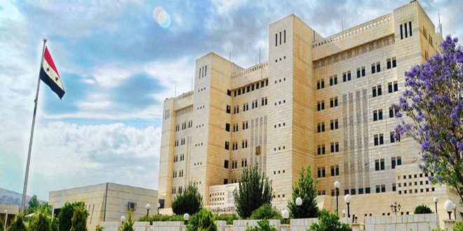 Syria: Foreign Ministry Lauds Lebanese Resistance Operation Against Israeli Occupation Patrol