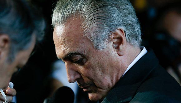 Brazil: Temer Admits There was a Coup Against Rousseff