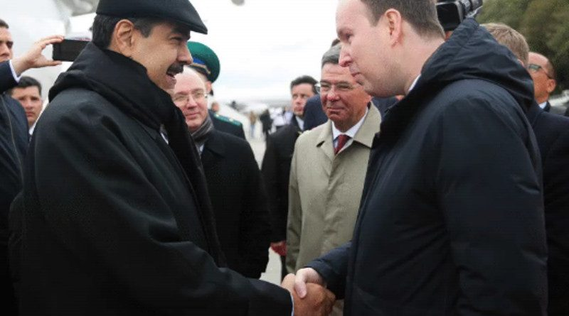 Maduro Already in Moscow