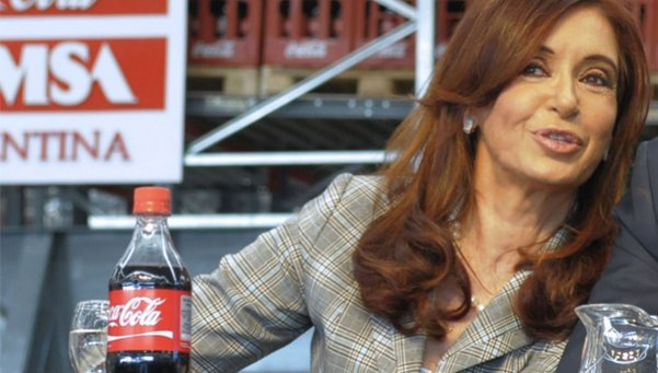 """Argentina's Cristina Fernández de Kirchner: """"You Have to be Terrible to Send Coca Cola into Bankruptcy"""""""