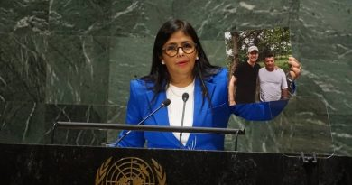 Venezuelan Vice-President Delcy Rodriguez Speech to the United Nations General Assembly