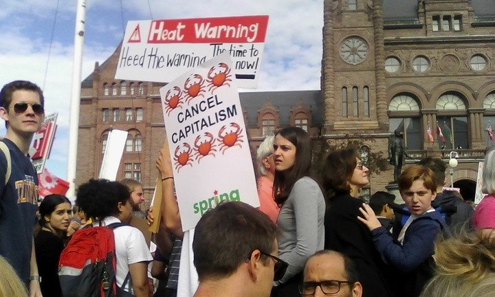 Toronto Climate Strike: Let a Hundred Posters Bloom