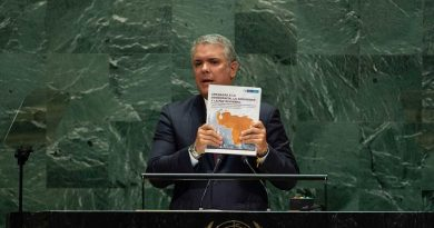 Dossier Presented by Colombia's Duque at the UN: Another Lie?