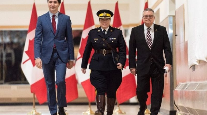 Canada's Trudeau Government Uses RCMP Officers To Stifle Dissent