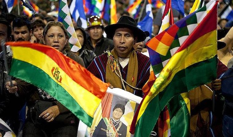 Opposition Sets Democracy on Fire in Bolivia