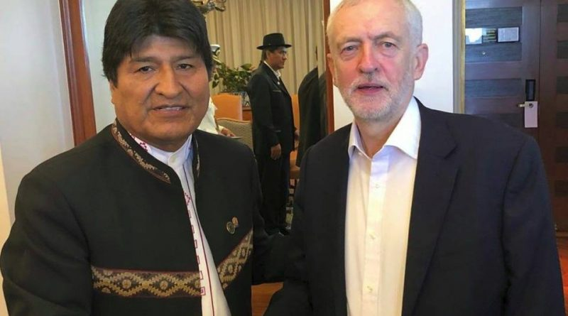 Solidarity with Bolivia!