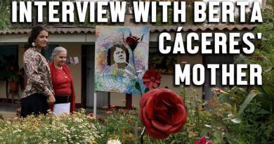 Mother of Assassinated Activist Berta Cáceres Speaks out Against US-backed Honduran Dictatorship (Interview)