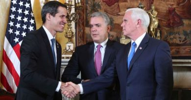 US wants Venezuela as an Associate State, and FARC Kicks the Board Responding to Duque