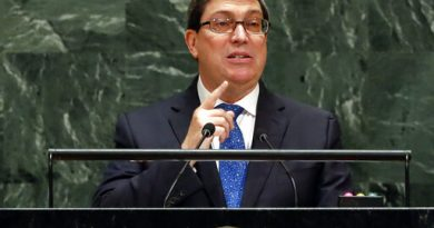 """Bruno Rodriguez Speech at the UN: """"Economic Aggression, Threats and Blackmail will not Take Away a Single Concession"""""""
